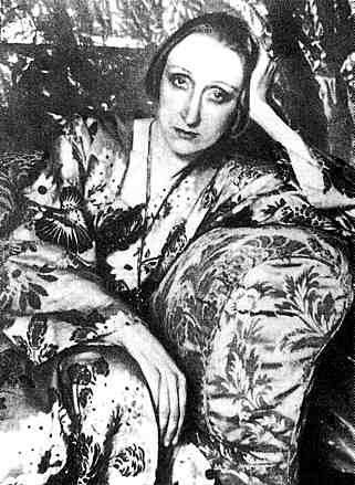 Edith Sitwell, photographiert von Cecil Beaton